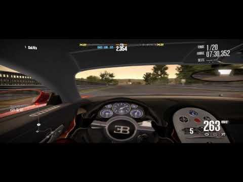 Need for Speed Shift Gameplay - Bugatti Veyron 360...