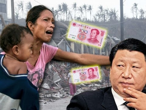 Typhoon Haiyan: China insults Philippines with paltry aid donation
