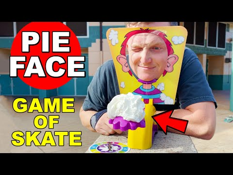 THE PIE FACE GAME OF SKATE CHALLENGE
