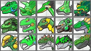 Dino Robot Green Corps | Show Me Games