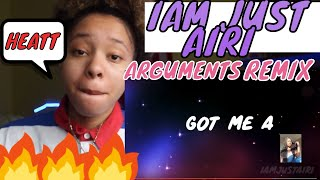 DDG - ARGUMENTS (IAM JUST AIRI REMIX) *PROD TREON THE BEAT*REACTION