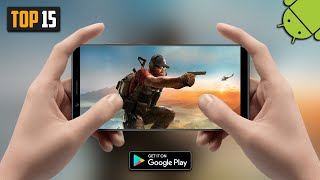Top 15 BEST Action/FPS/Shooting Games For Android 2019   High Graphics (Online/Offline)
