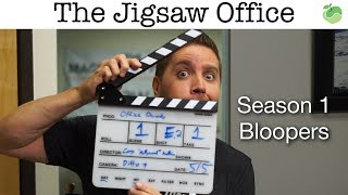 The Jigsaw Office Season 1 Bloopers   #FunnyFriday