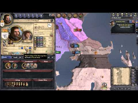 Crusader Kings 2: Game of thrones mod Feast for Crows Scenario SPOILERS!- Snow Part 20