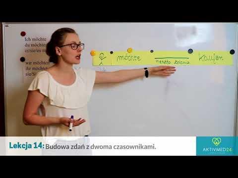 Niemiecki Dla Opiekunek: Lekcja 14 - Zdania Z Dwoma Czasownikami