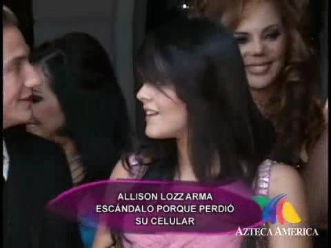¿Allisson Lozz posó desnuda?