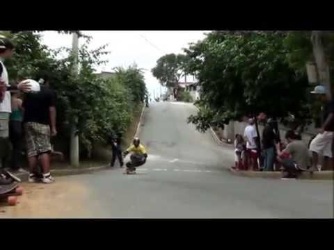 Campeonato Zona de Perigo de Skate Downhill - 2012