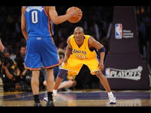 Kobe Bryant Lockdown Defense vs. Russell Westbrook