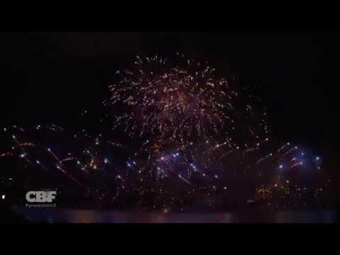 Shanghai Fireworks Competition 2014- Winner - Belgium - CBF Pyrotechnics