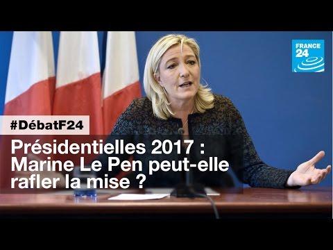 Présidentielle 2017 : Marine Le Pen peut-elle rafler la mise ? (partie 2) - #DébatF24
