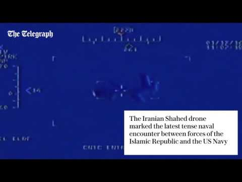 Iranian Drone Flies Over US Aircraft In Persian Gulf