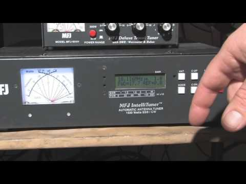 MFJ-998 1.5KW Auto Tuner Part 1 - Basics