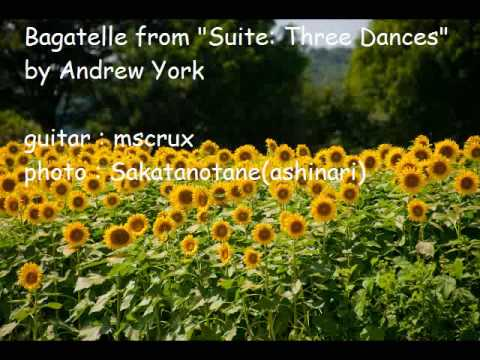 Эндрю Йорк - 3 Dances - Bagatelle