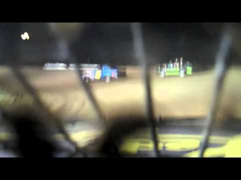 Ledo Pizza #44 @ Elkins Speedway 8-27-10 Heat Race IN CAR CAM