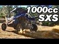 Triple Cylinder 1000 Cc SXS UTV ATV YXZ 1000R Trail Riding Drifting Donuts + Hard Launching
