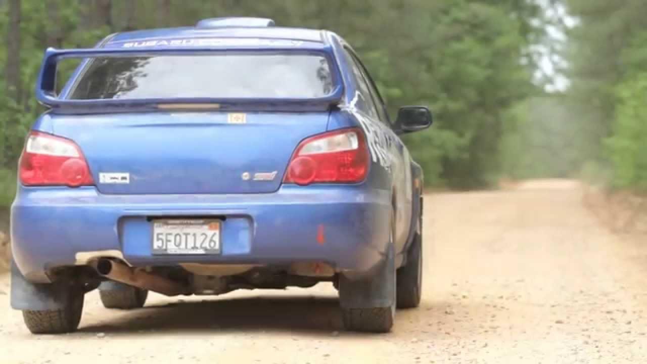 Subaru Rally Car Launch