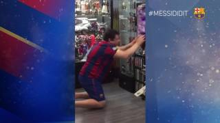 #MessiDidIt: Crazy celebrations after Messi's goal in El Clásico