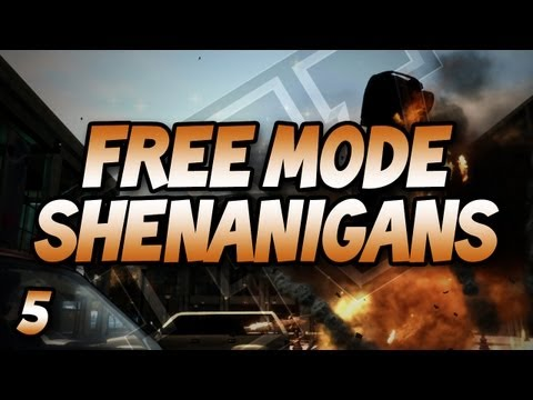 GTA IV Free Mode Shenanigans: w/ Gassy, Nanners, Goldy, Diction, & Chilled #5