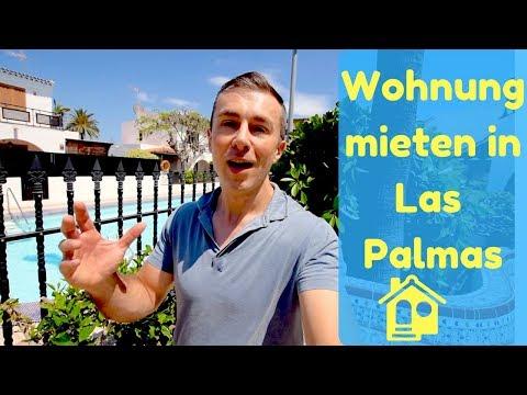 Wohnung auf Gran Canaria mieten in Las Palmas + Haustour