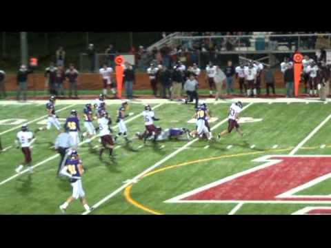 Damorria Lilly #7 RB Warren De La Salle Collegiate High School Junior Highlight Tape