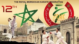FRMK : SPOT Publicitaire Chaînes TV Arryadia 12th International Mohammed VI Karate Cup