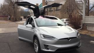 Tesla Model X-Mas Show Trans Siberian Orchestra THE WIZARDS IN WINTER