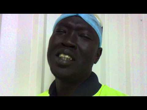 African Boy singing indian song. thumbnail