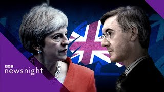 Jacob Rees Mogg on Brexit and the Tory party - BBC Newsnight