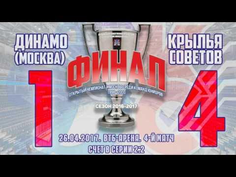 Динамо-Крылья Советов 1:4 (голы)