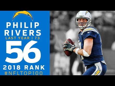 #56: Philip Rivers (QB, Chargers)   Top 100 Players of 2018   NFL