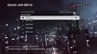 Battlefield 4 Official Squad Join Video