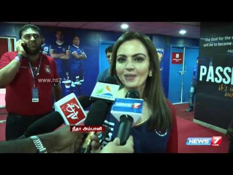 Celebrities Speaks To News7 Tamil At Indian Super League   Howzatt   News7 Tamil