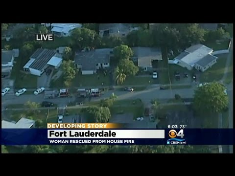 Developing Story: Fire Breaks Out In Fort Lauderdale Home