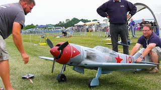 AMAZING RC MODEL SCALE AIRPLANE LAWOTSCHKIN LA-7 IN DETAIL AND FLIGHT DEMO!!
