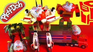Kinder Surprise Eggs TRANSFORMERS Series 1! + Original Grimlock Dinosaur