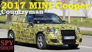 2017 MINI Cooper Countryman Spy Shot !