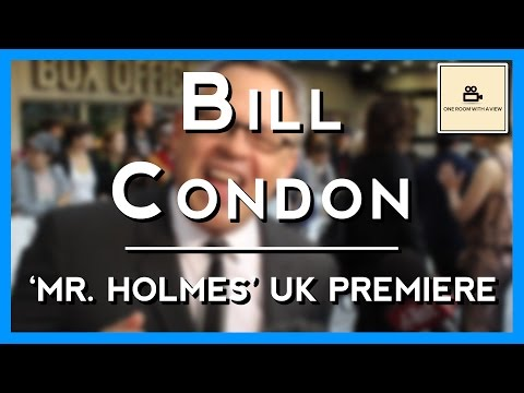 Bill Condon 'filming Mr. Holmes was like a puzzle' | Mr. Holmes UK Premiere