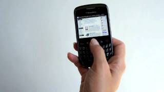 BlackBerry Curve 3G 9330 on Verizon video review
