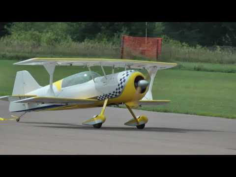 Worlds largest giant scale RC ARF: Pitts Model 12 Biplane Aircraft - 50% scale!!