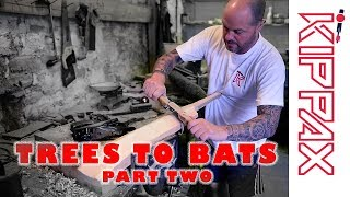 From Trees to Cricket Bats - Part Two  - Turning Clefts Into Bats!