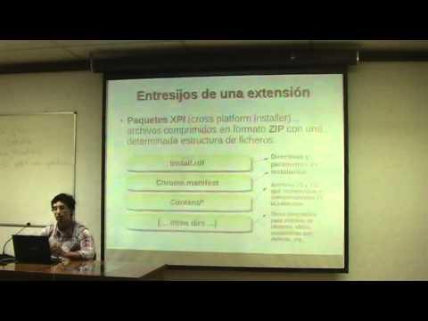 UPM TASSI 2012 Conferencia 1: Malware multiplataforma vía extensiones Firefox