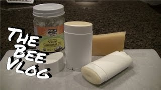 Homemade Deodorant - Bee Vlog #126 - Mar 28, 2014