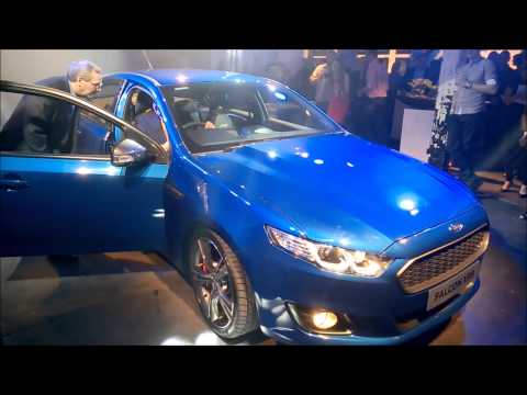 New 2014 Ford Falcon launch reveal.