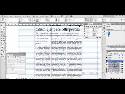 InDesign-Diseño de Periódicos-01-Tutorial
