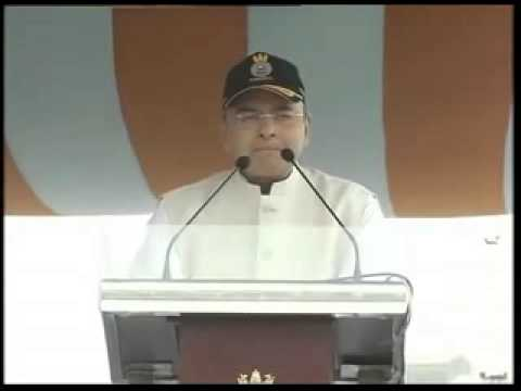 INS Kamrota exhibits effectivenes of Indian Navy: Arun Jaitley