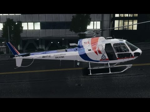 Eurocopter AS350 Ecureuil (Squirrel) Malaysia