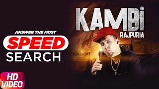Kambi Rajpuria | Answers The Most Search Speed Questions | Speed Records
