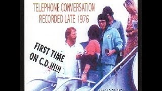 Elvis Presley phone call with Red West in October 1976