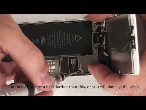 iPhone 5s battery replacement in 6 minutes!