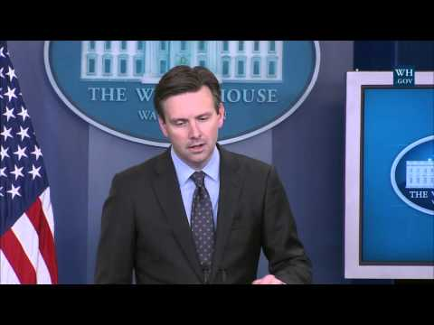 4/29/16: White House Press Briefing